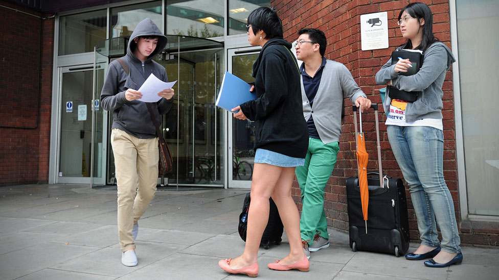 UK 'missing out' on overseas students
