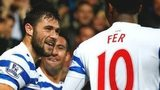 Charlie Austin and Leroy Fer