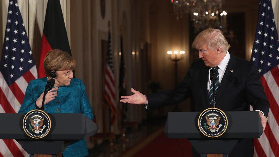 Merkel dan Trump