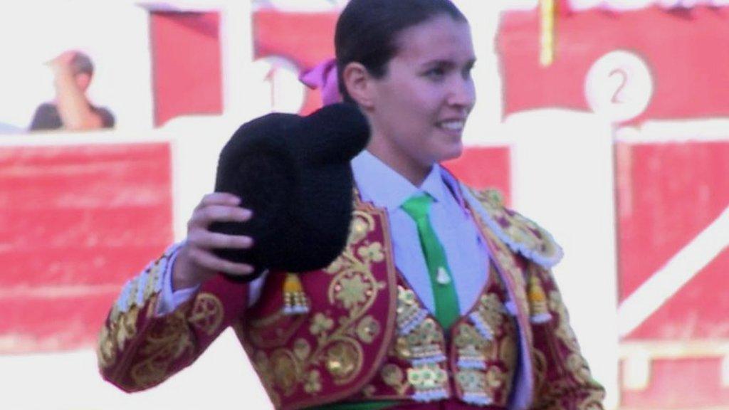 The matador fighting bulls and sexism