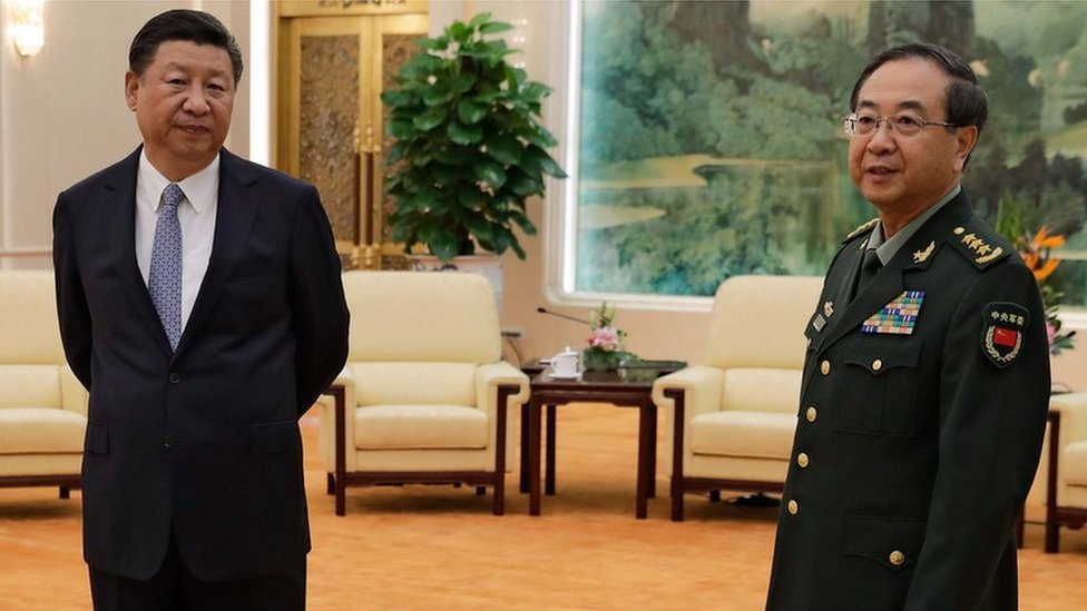 Fang Fenghui: China's ex-top general jailed for life