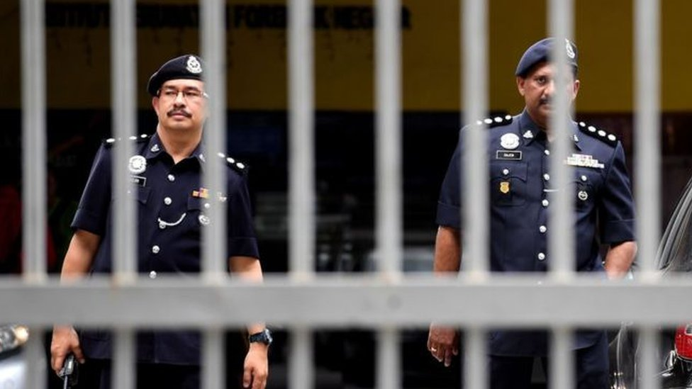 الشرطة الماليزية