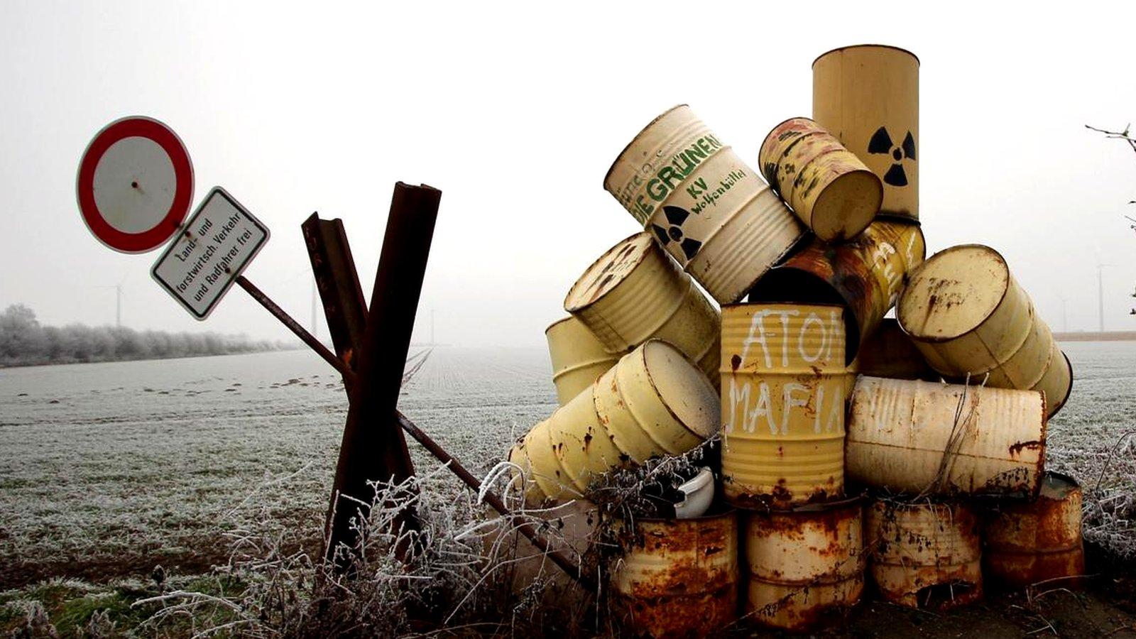 Виды радиоактивных отходов
