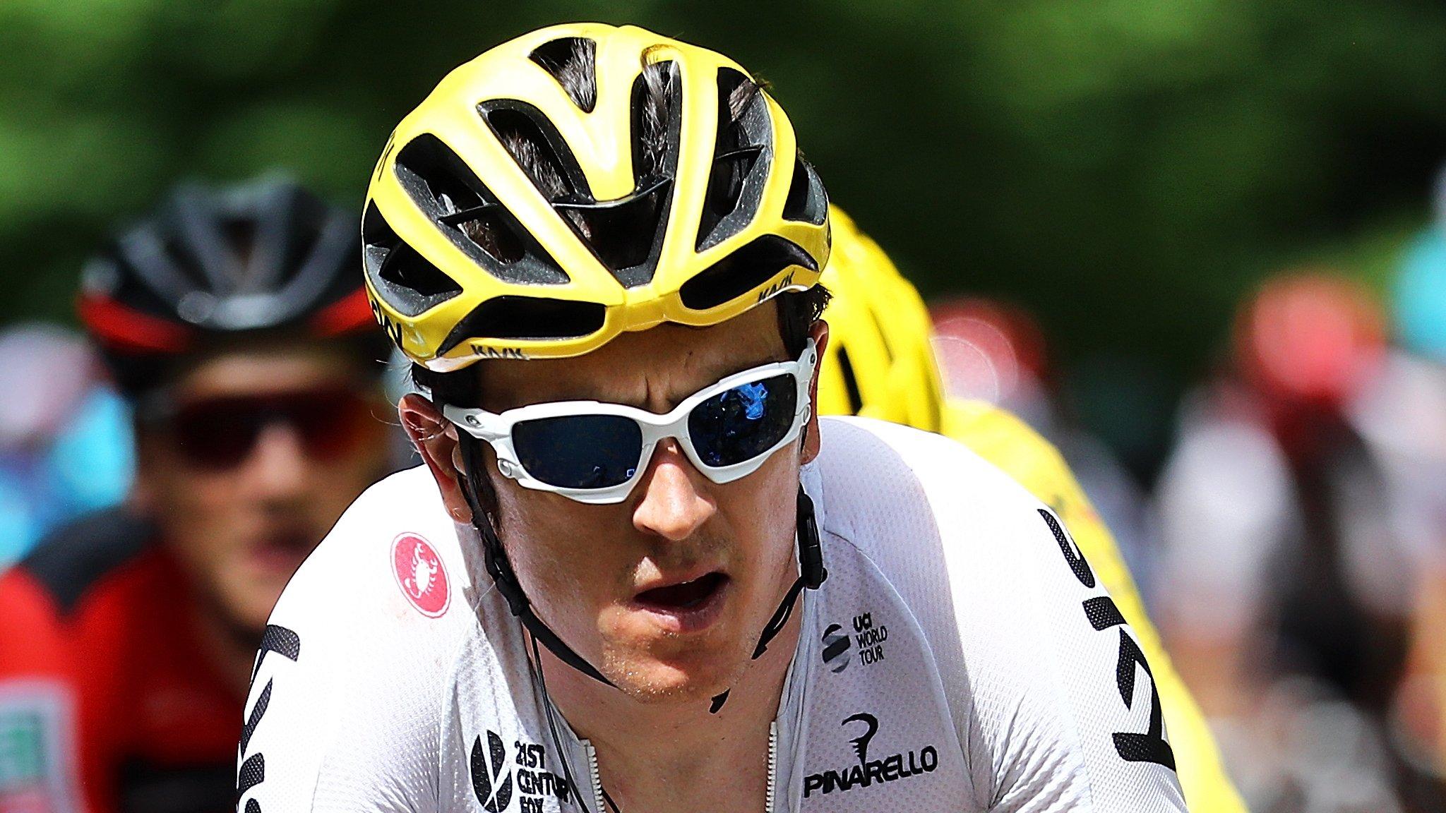 Volta ao Algarve: Team Sky's Geraint Thomas loses on last Algarve stage