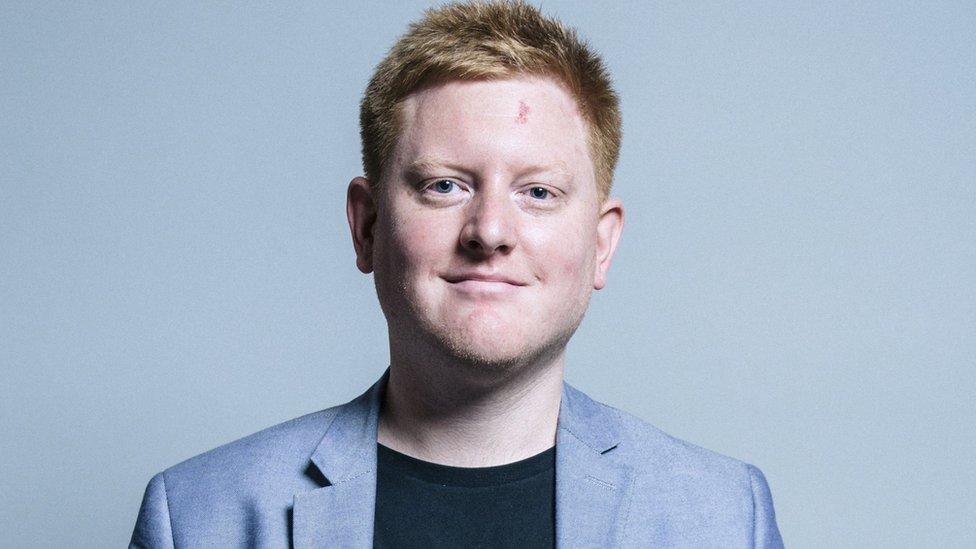 MP Jared O'Mara to cut back duties on health grounds   BBC