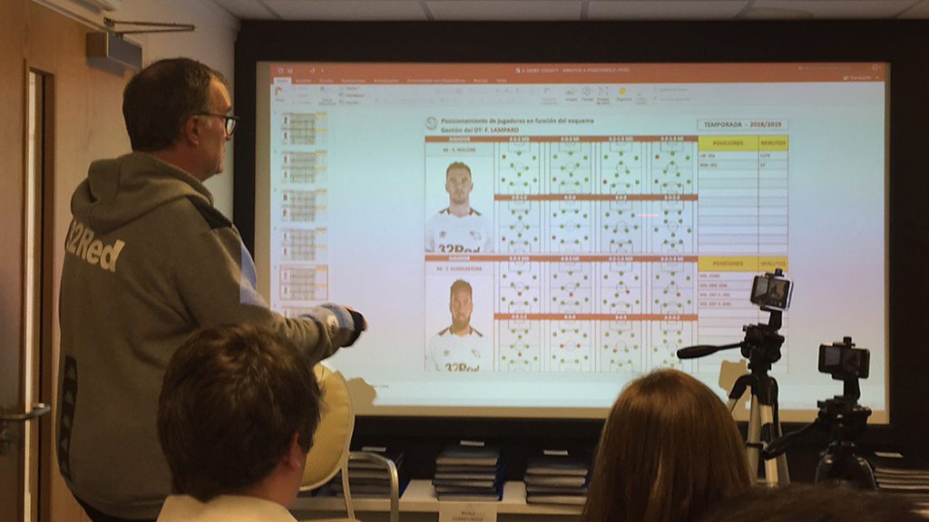Marcelo Bielsa wowed BBC Radio Leeds' Adam Pope at his press conference