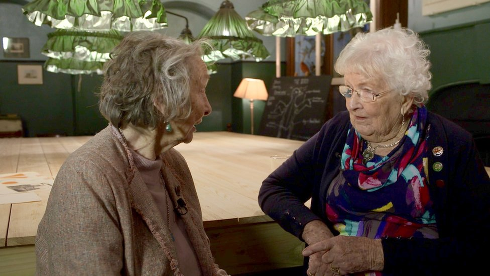 Friends reunited after 76 years