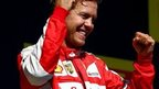 Ferrari serve up win for Bianchi