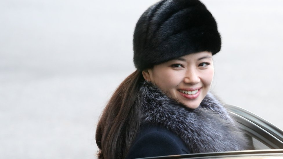 La visita de la exvocalista norcoreana Hyun Song-wol a Seúl también causó sensación.