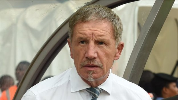 Africa Cup of Nations: SA coach Baxter defends team after record win