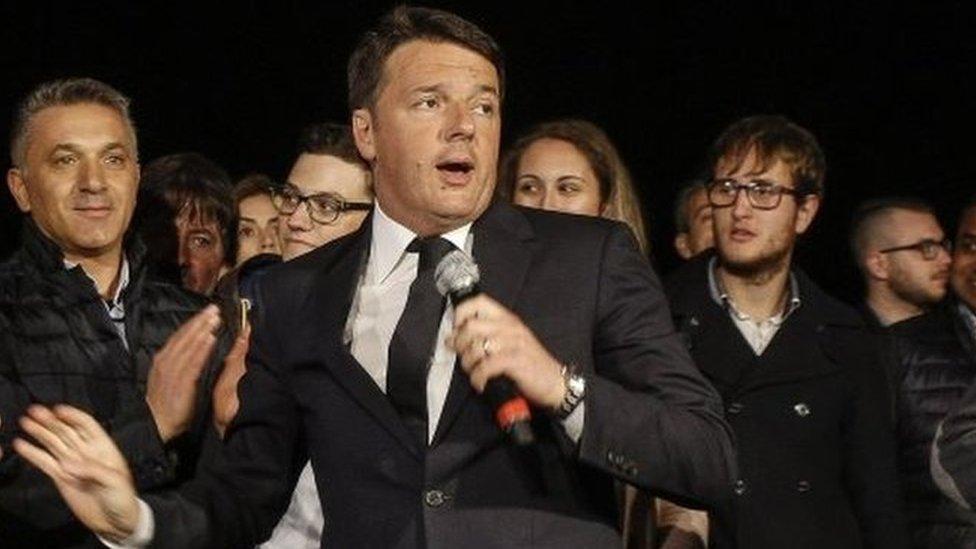 Italy ex-PM Matteo Renzi wins Democratic Party election