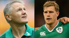 Joe Schmidt and Andrew Trimble