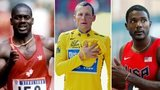 Ben Johnson, Lance Armstrong, Justin Gatlin