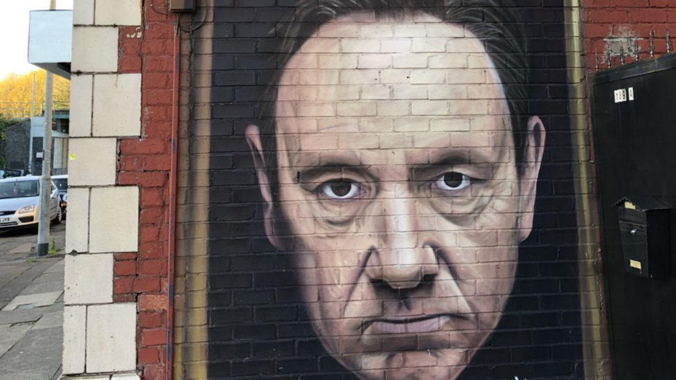 <![CDATA[Kevin Spacey mural to be removed from Manchester office]]>