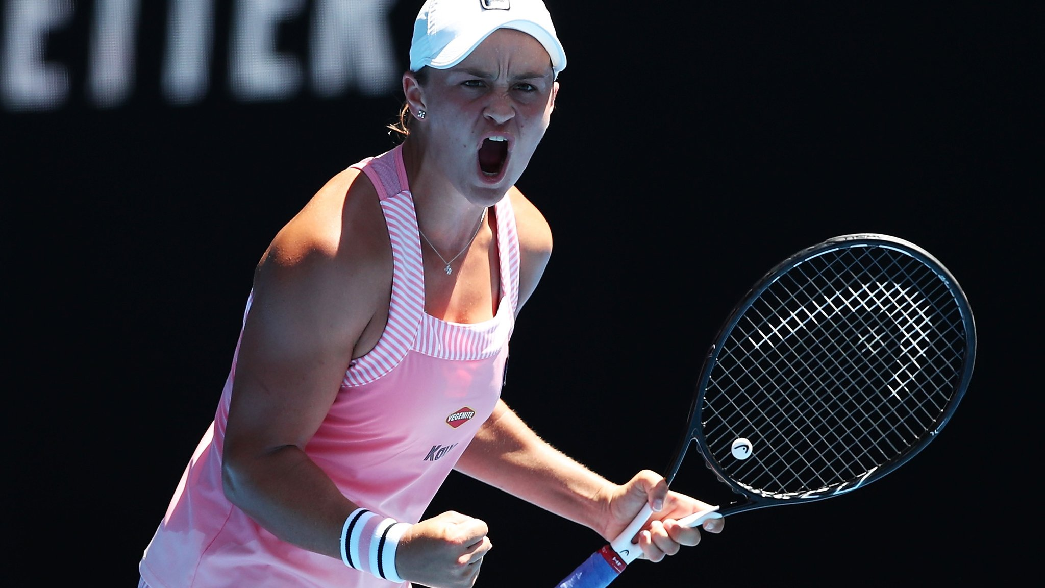 Barty beats Sharapova to reach first Grand Slam quarter-final