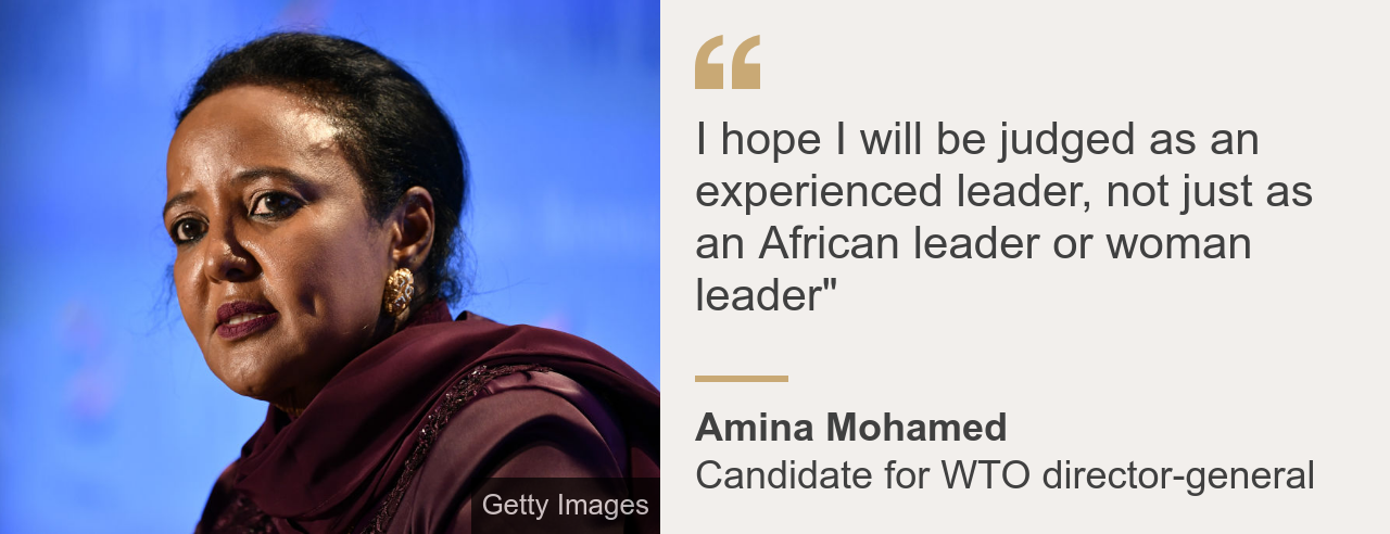 Amina Mohamed quote box