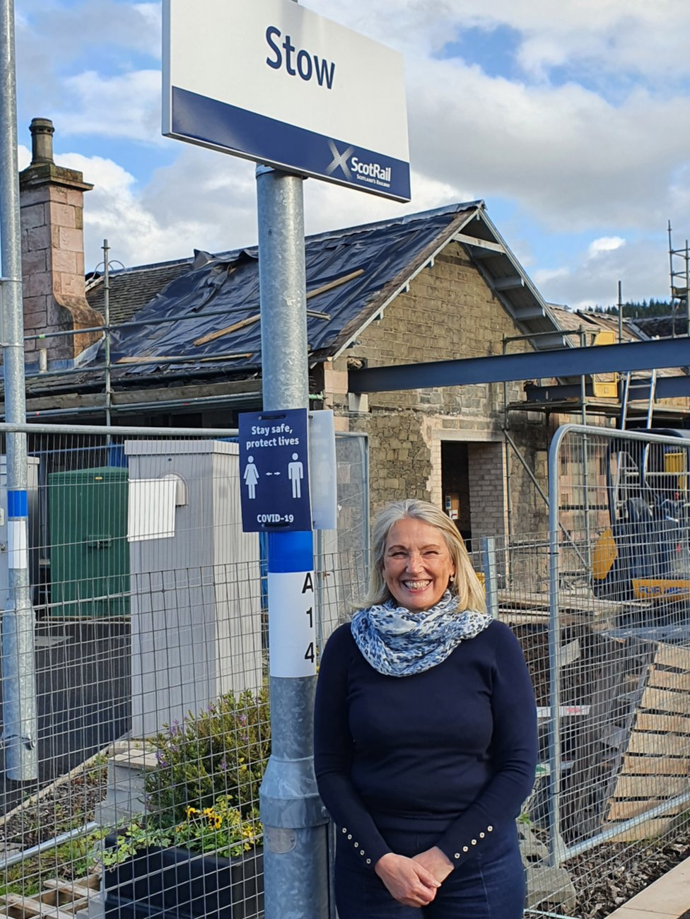 Borders Railway: 'The line has re-energised our community' thumbnail