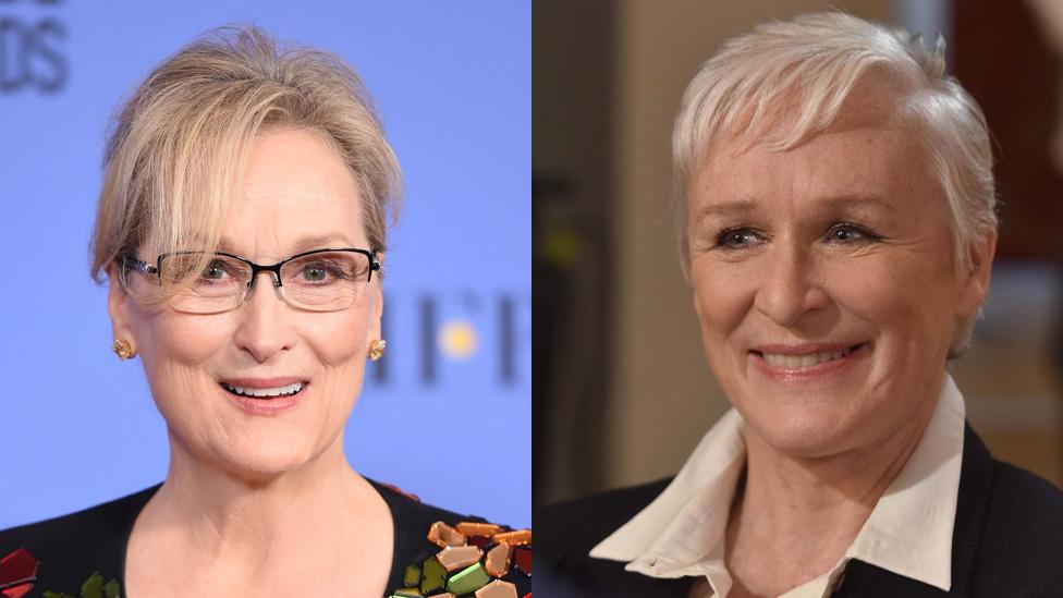 Meryl Streep y Glenn Close
