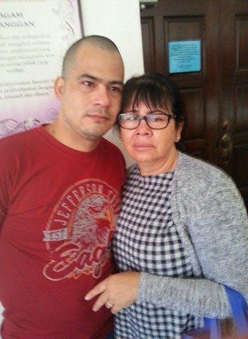 Víctor Paredes y Silvia Vargas