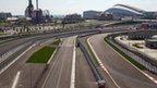 F1 circuit in Sochi