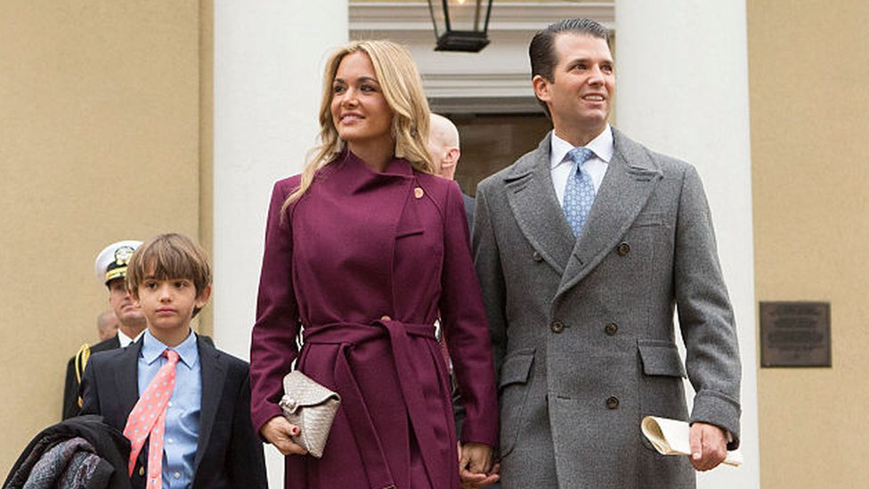 La pareja tiene cinco hijos.