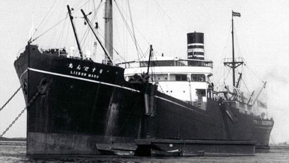 British POWs sank with the Lisbon Maru - should it be raised?