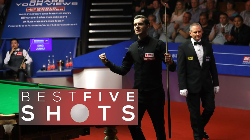 Watch: Selby reaches another world final - 5 best shots