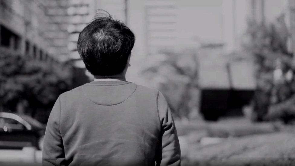 joven surcoreano que habló con la BBC