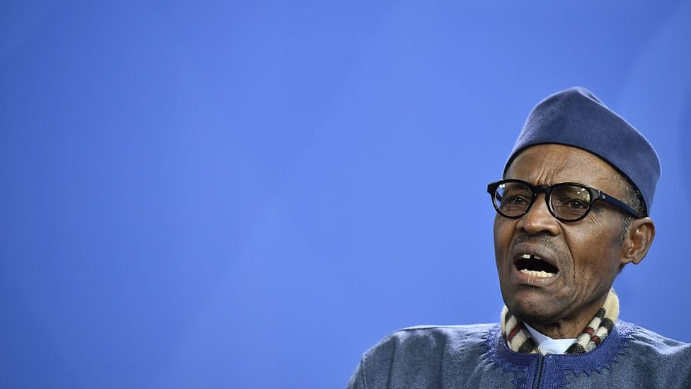 Why is Nigeria's President Buhari still in London?