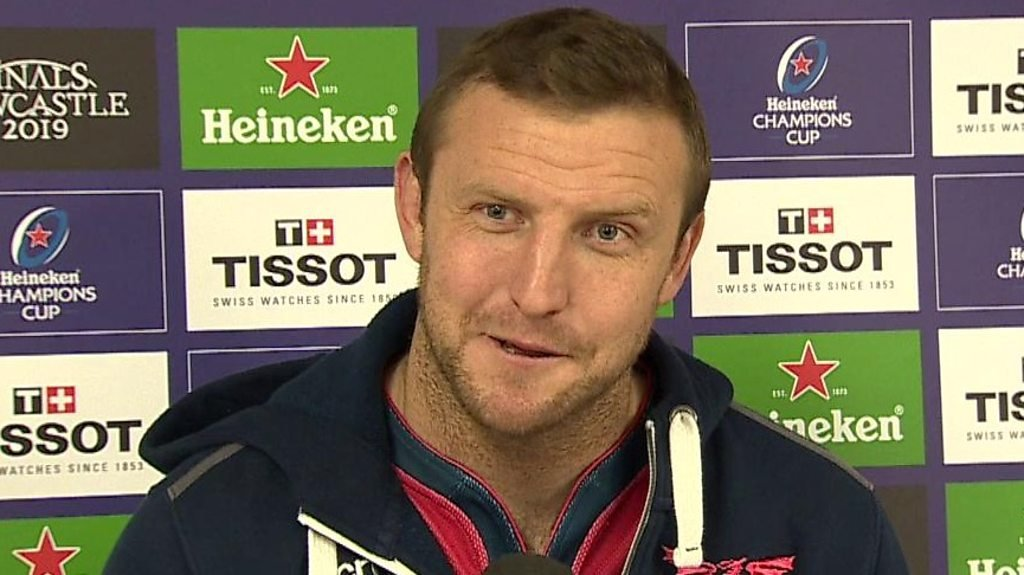 Hadleigh Parkes: Current and next Scarlets boss met at my wedding