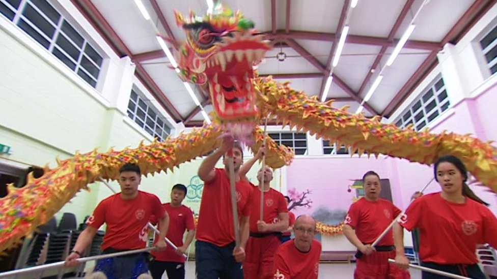 Chinese New Year: Dance team prepare for Birmingham celebrations