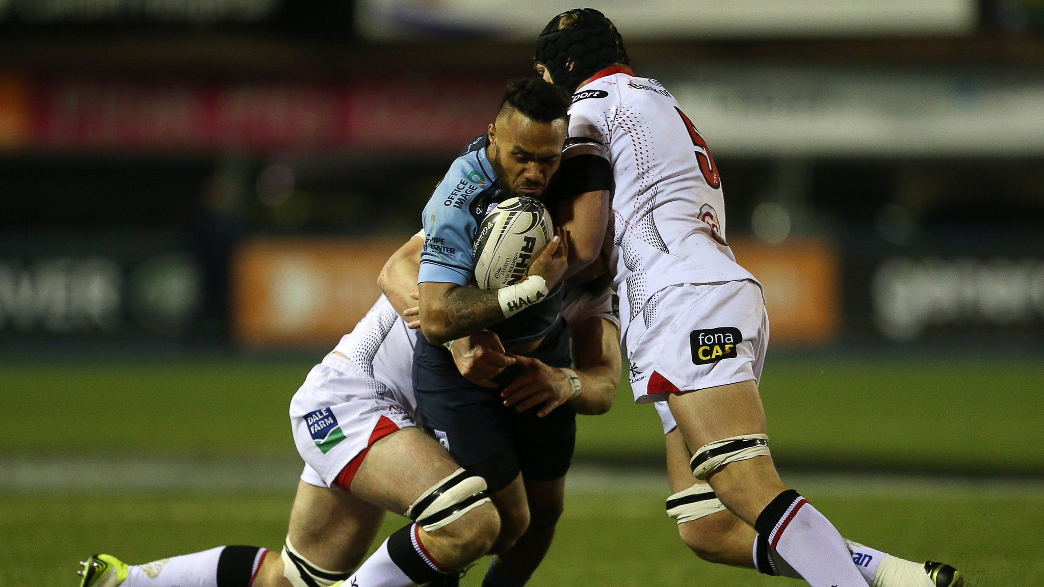 Ulster end losing run with with victory at Cardiff