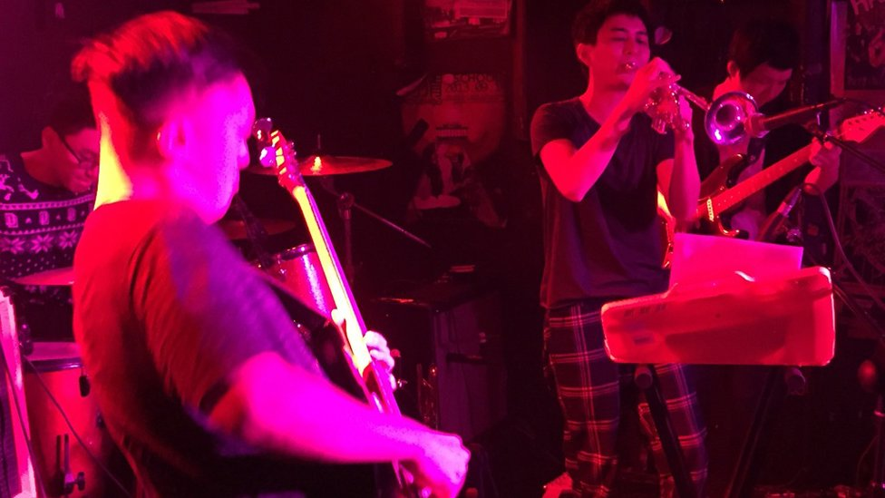 The special flavour of rock'n'roll Beijing