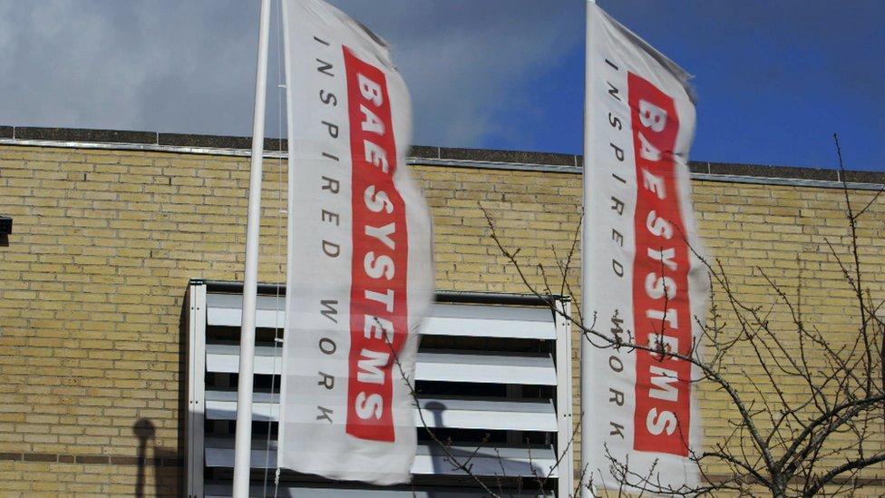 Sede de BAE Systems en Dinamarca