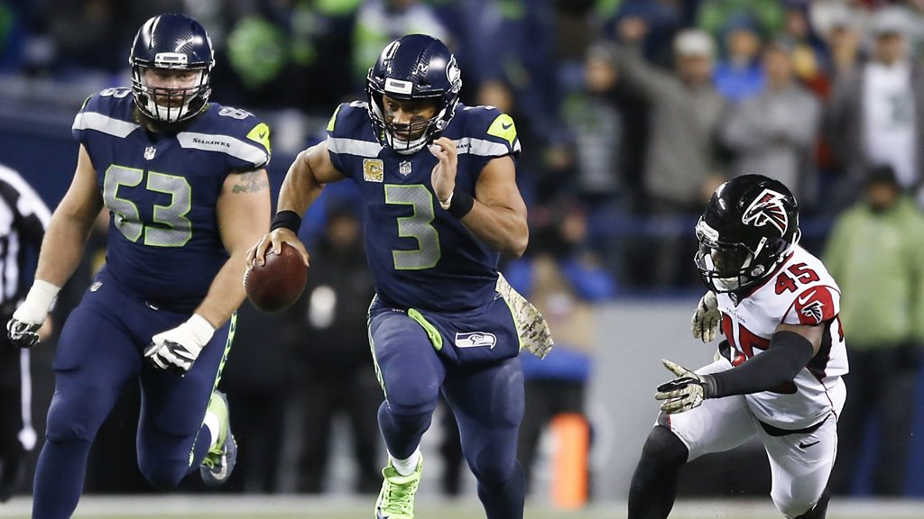 NFL: Russell Wilsons best escapes against the Atlanta Falcons