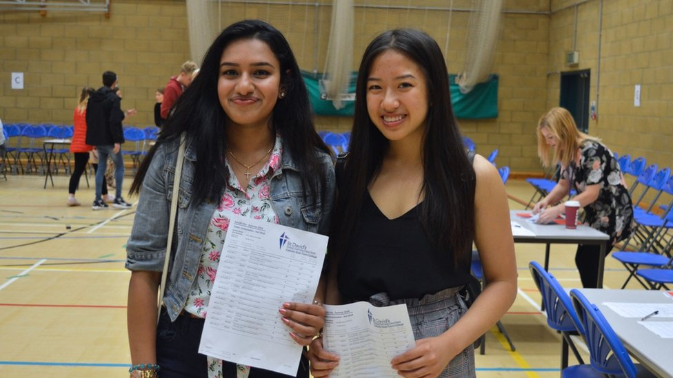 A-level results in 2018: 'All the hard work has paid off'