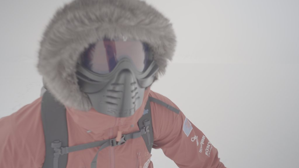 Richard Parks: Former rugby international's 'harrowing' South Pole record attempt