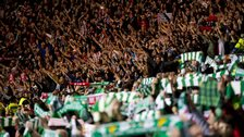 Celtic and Ajax fans