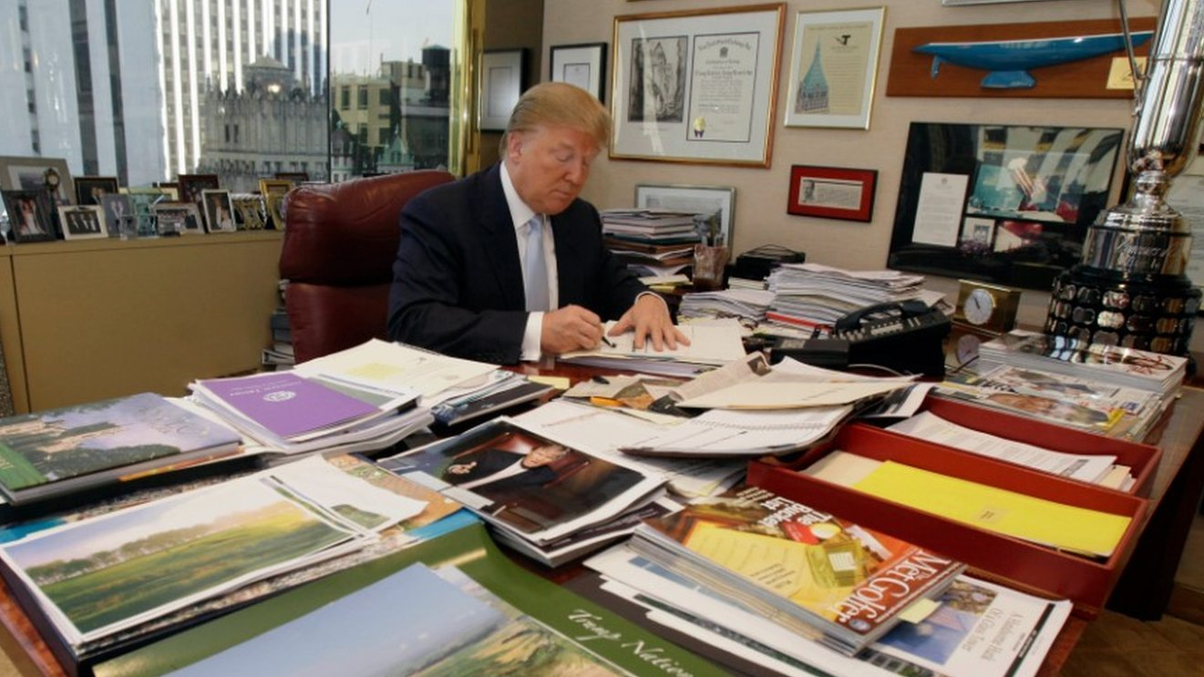 Trump says he will 'leave business' to focus on presidency