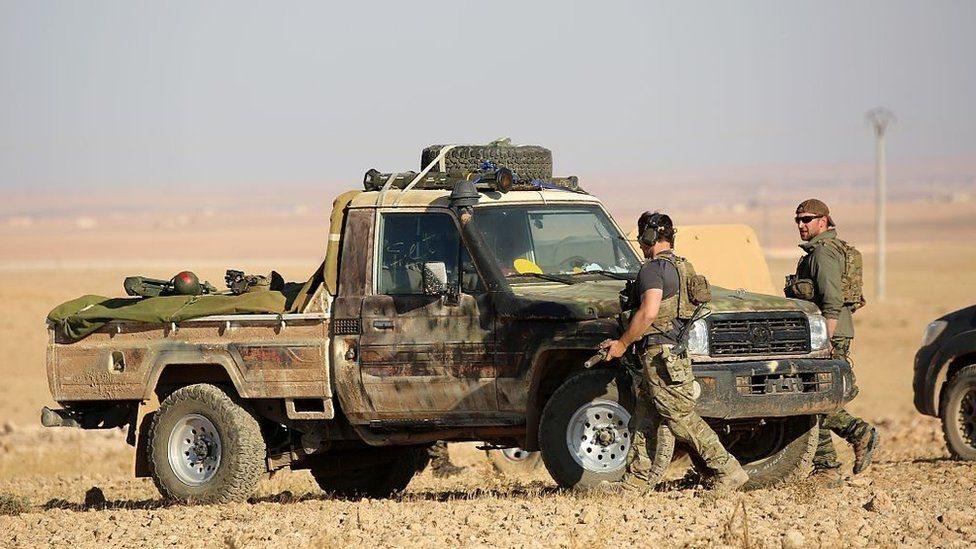 قوات خاصة من دول غربية بينها الولايات المتحدة في سوريا