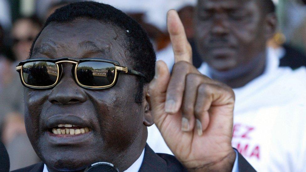 Togo's former leader Eyadema Gnassingbe