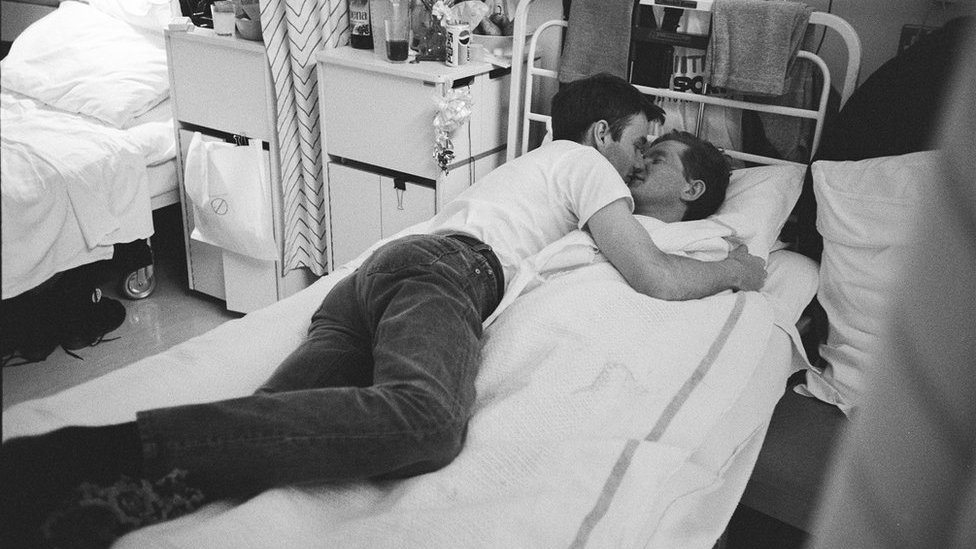 Life on London's first Aids ward