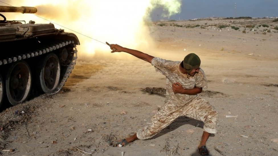 What next for Islamic State in Libya after Sirte?