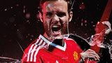 Juan Mata in United's new kit