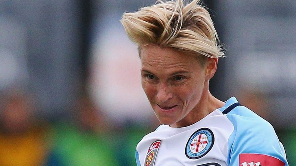 Jess Fishlock takes over as Melbourne City coach