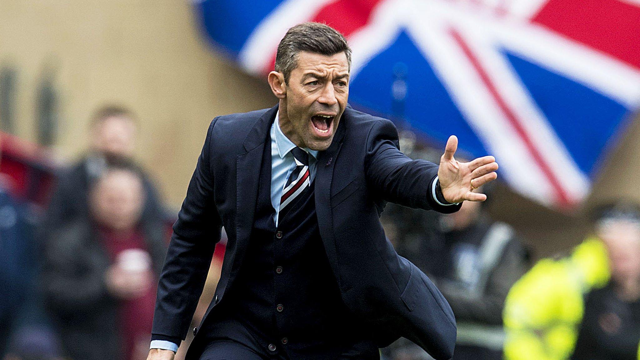 Rangers: Pedro Caixinha still confident players can overcome Celtic