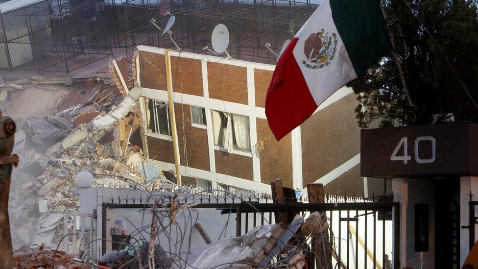 Mas de 270 personas murieron como consecuencia del más reciente terremoto en México.