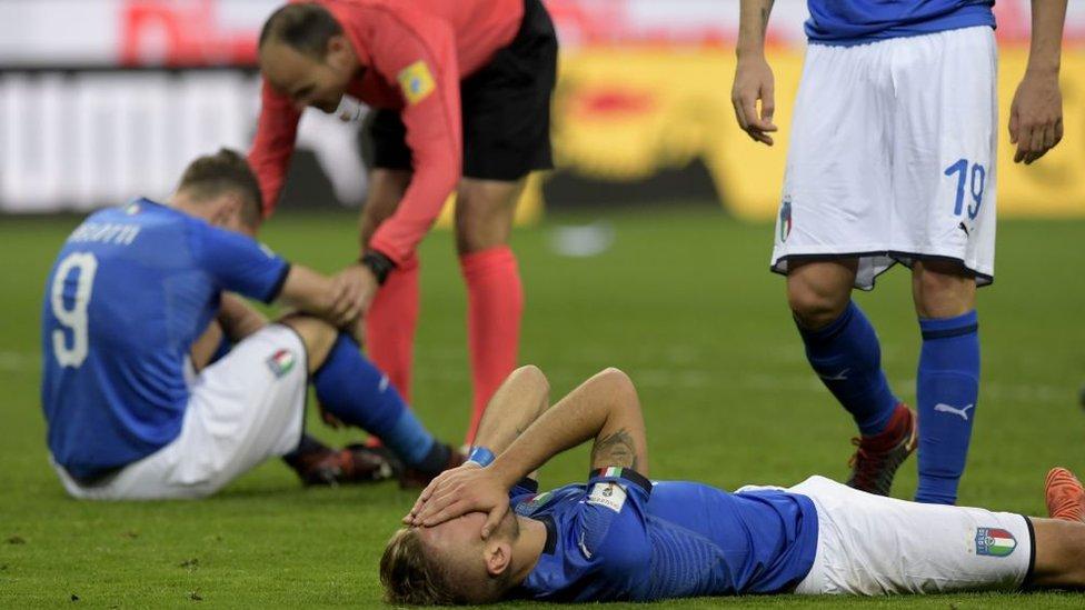 Italia fue eliminada por Suecia. (Foto: Miguel Medina)