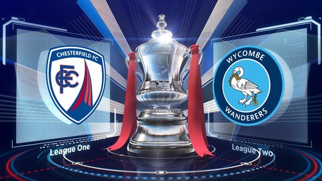 FA Cup: Chesterfield 0-5 Wycombe Wanderers highlights