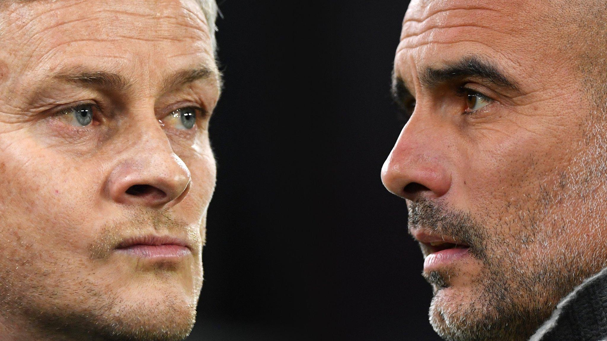 Man Utd v Man City: Pep Guardiola surprised by Ole Gunnar Solskjaer comments